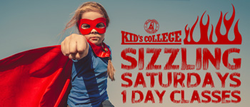 Sizzling Saturdays--1 Day Classes - Kid's College - Courses - El Camino College Community Education